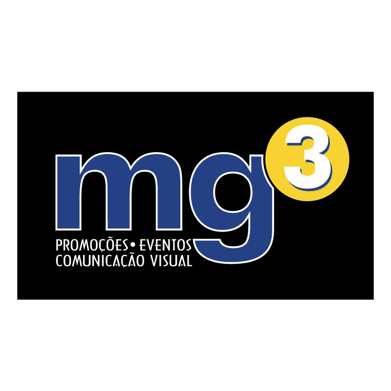 MG3 Promocoes e Eventos vector logo