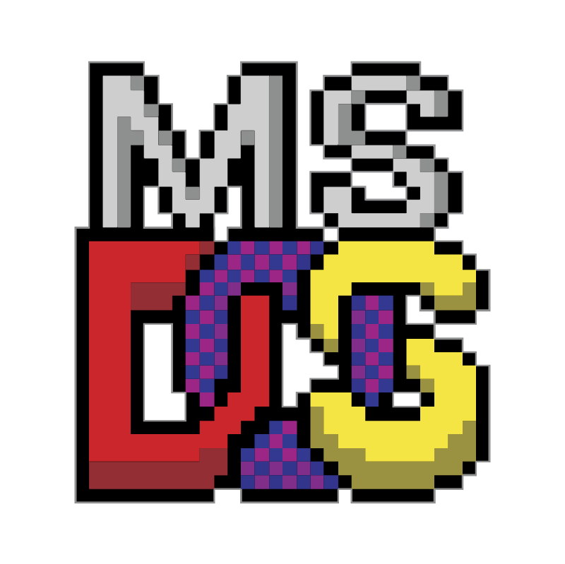 MS DOS Prompt vector