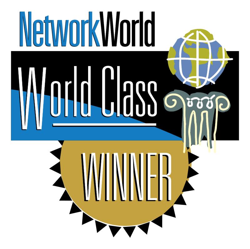 NetworkWorld World Class Winner vector