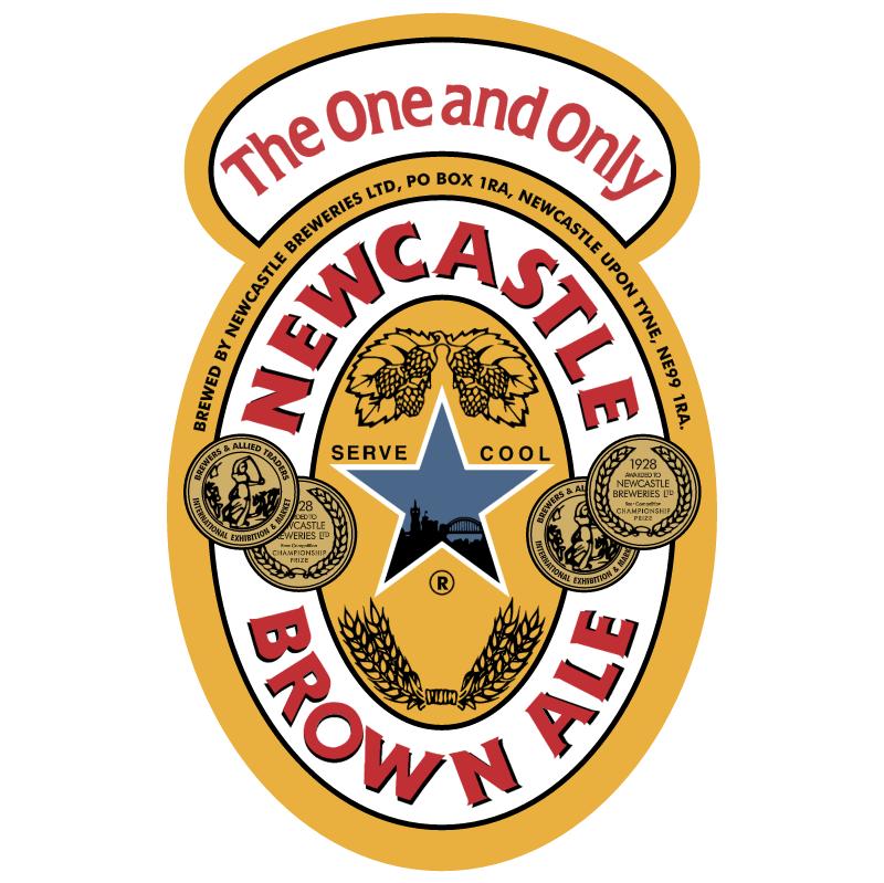 Newcastle Brown Ale vector