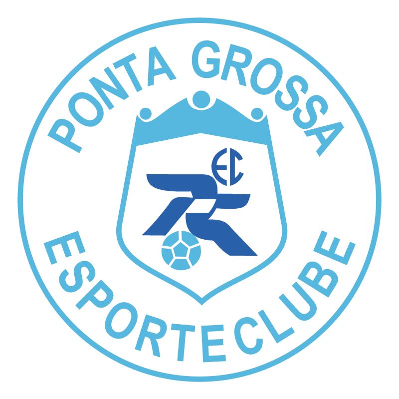 Ponta Grossa Esporte Clube de Ponta Grossa PR vector