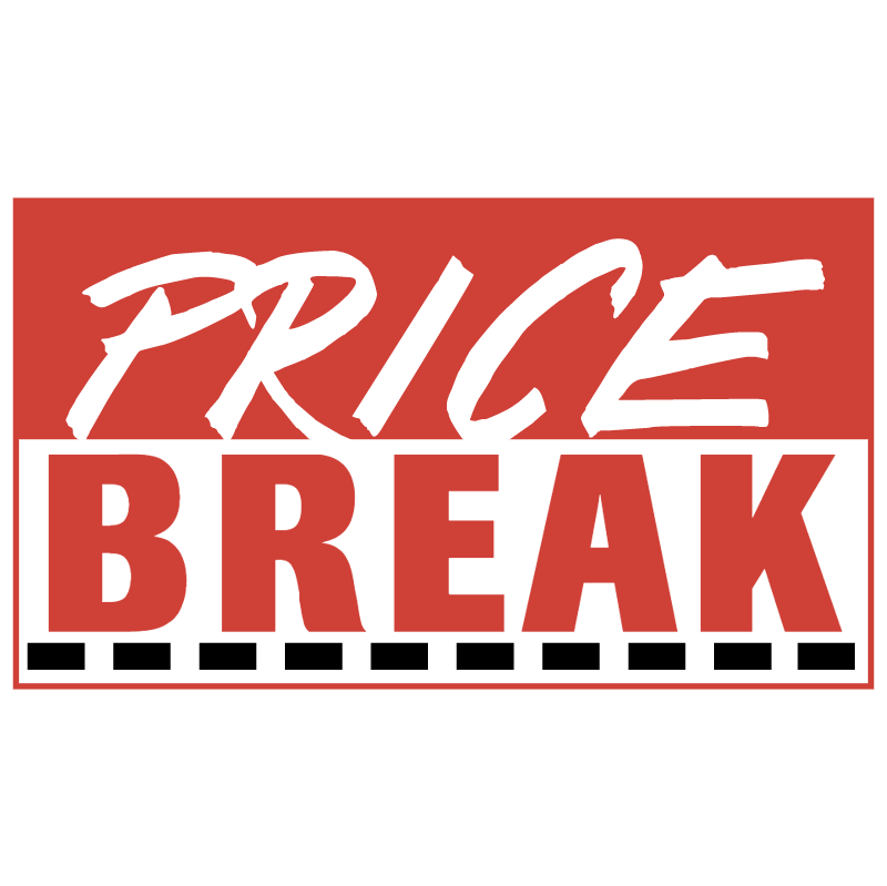 Price Break vector