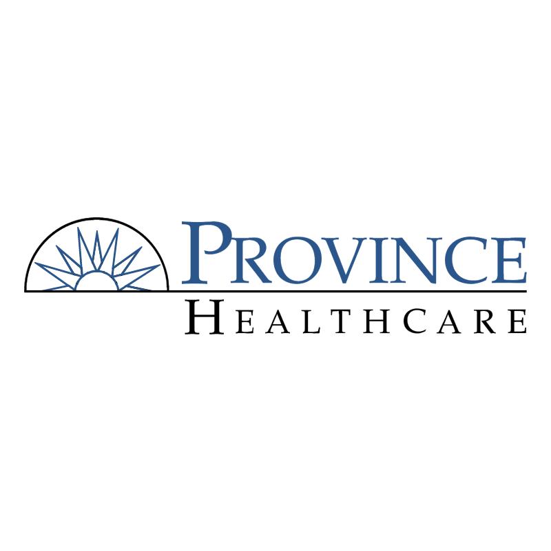 Province Healthcare vector