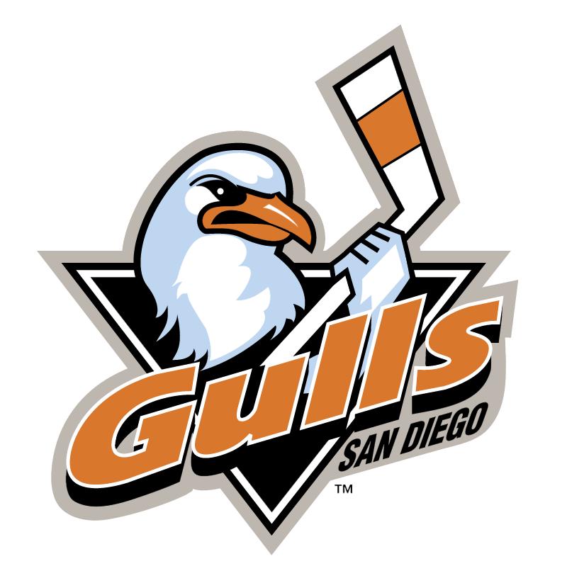 San Diego Gulls vector