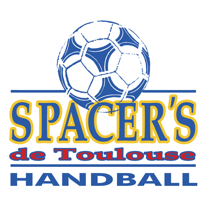 Spacer's de Toulouse Handball vector