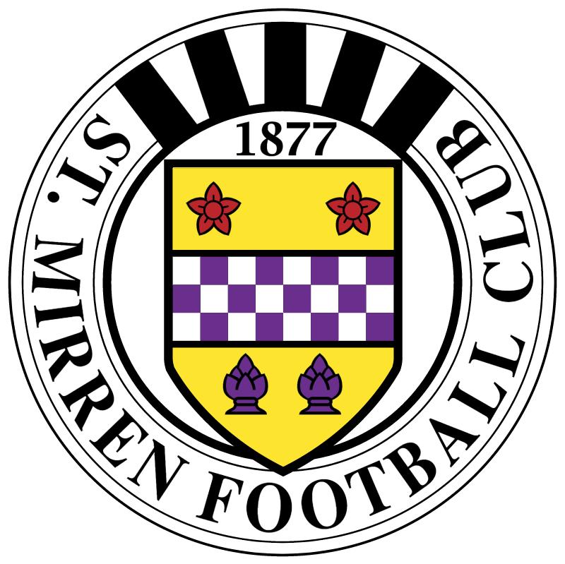 St Mirren vector logo