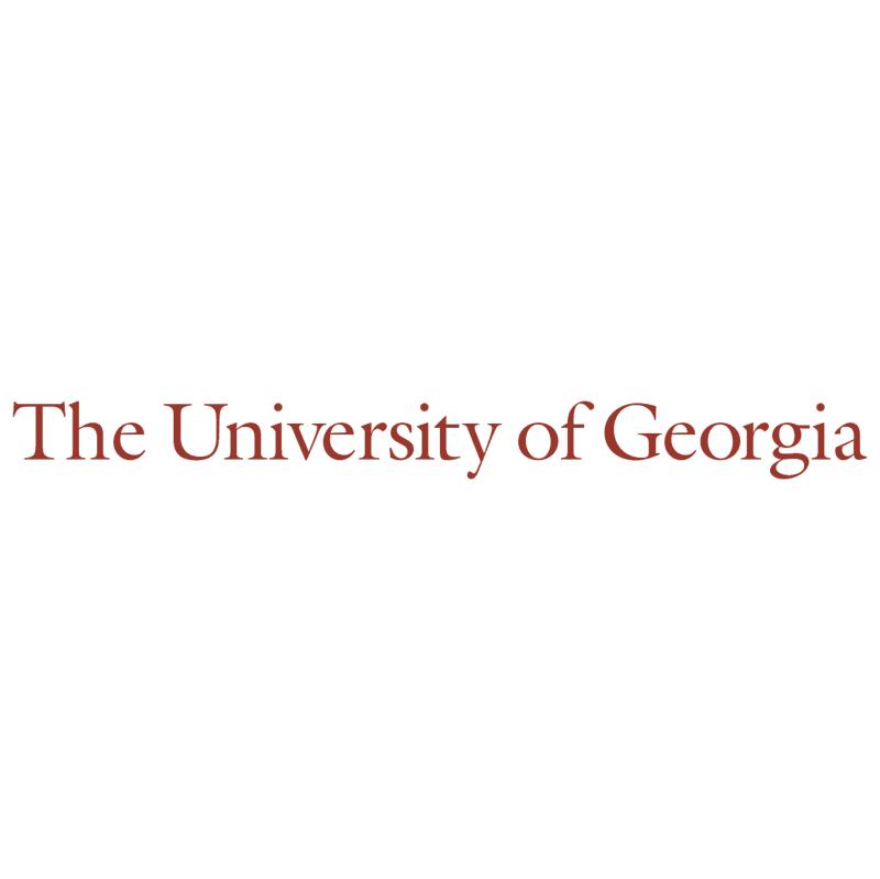 The University of Georgia vector logo