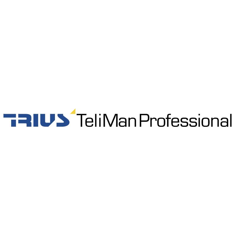 Trius TeliMan Professional vector