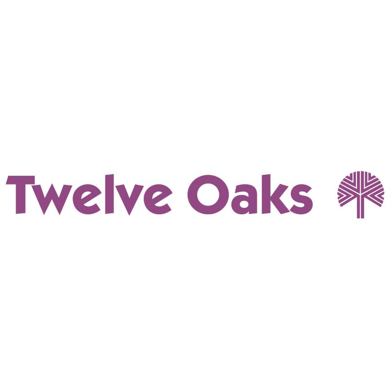Twelve Oaks Mall vector