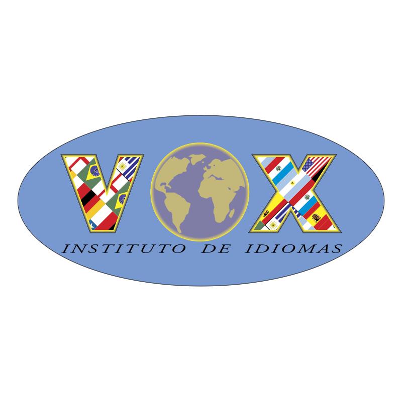 Vox Idiomas vector logo