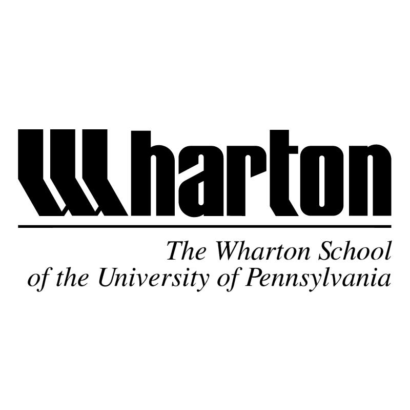 Wharton School vector