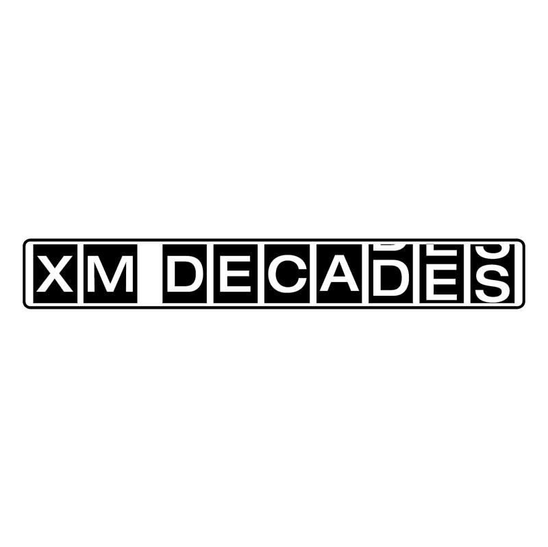 XM Decades vector