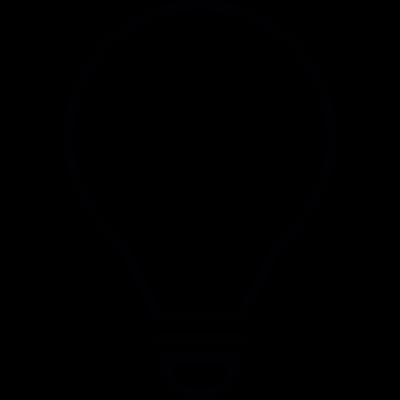 Bulb vector logo