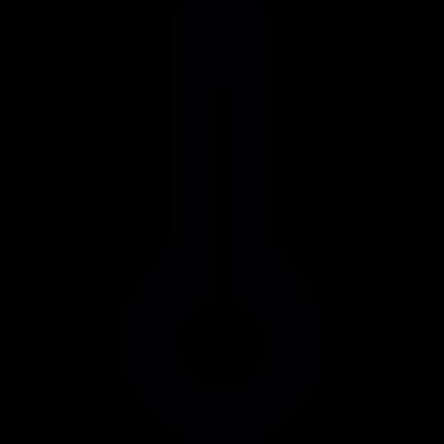 Temperature thermometer vector logo