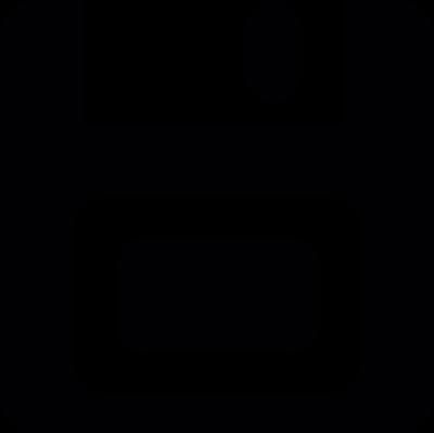 Floppy disk save vector logo