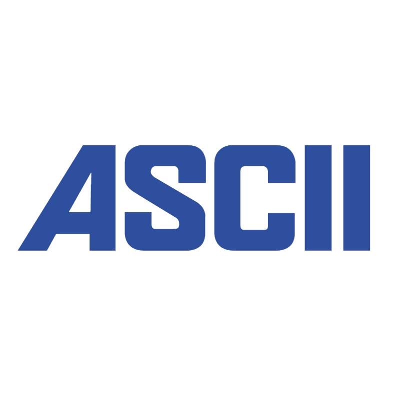 ASCII 41412 vector