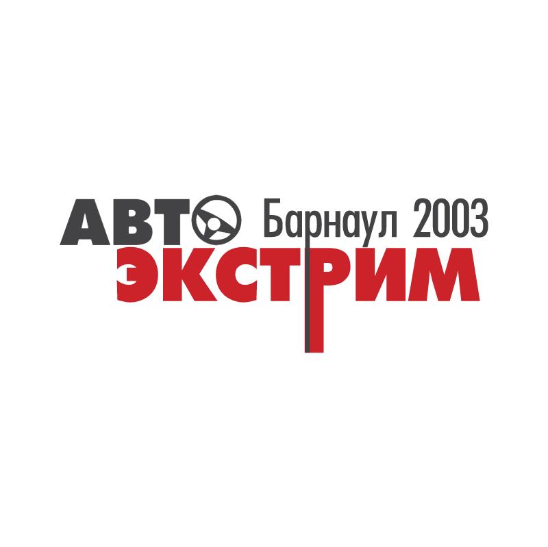 AutoExtrimBarnaul 2003 vector