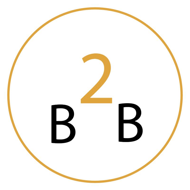 B2B Studio vector logo