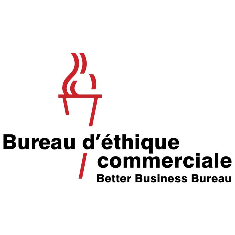 Bureau d'ethique commerciale 995 vector logo