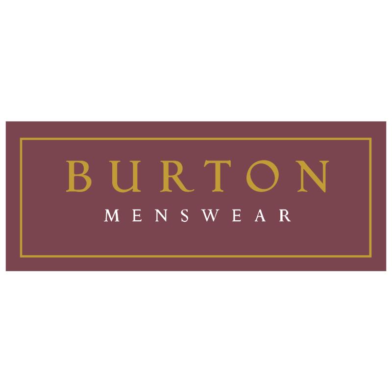 Burton Menswear vector logo