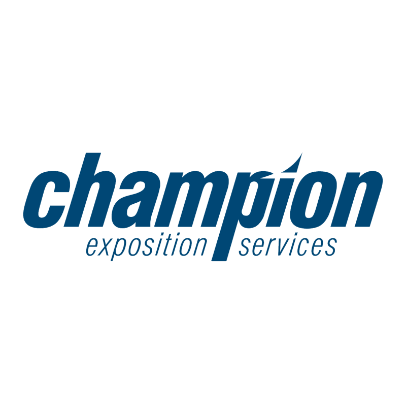 Champion Exposition Services vector
