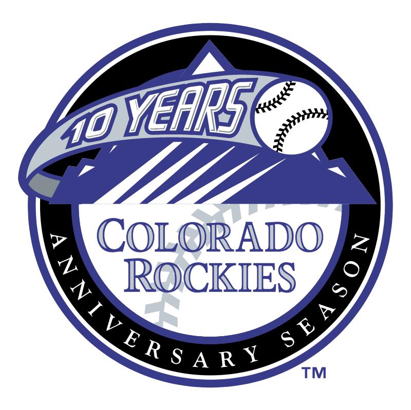 Colorado Rockies vector logo