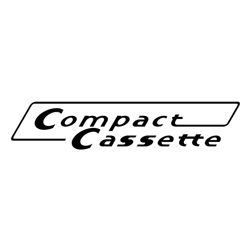 Compact Cassette vector logo