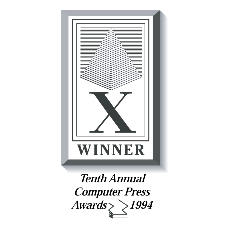 Computer Press Awards vector logo