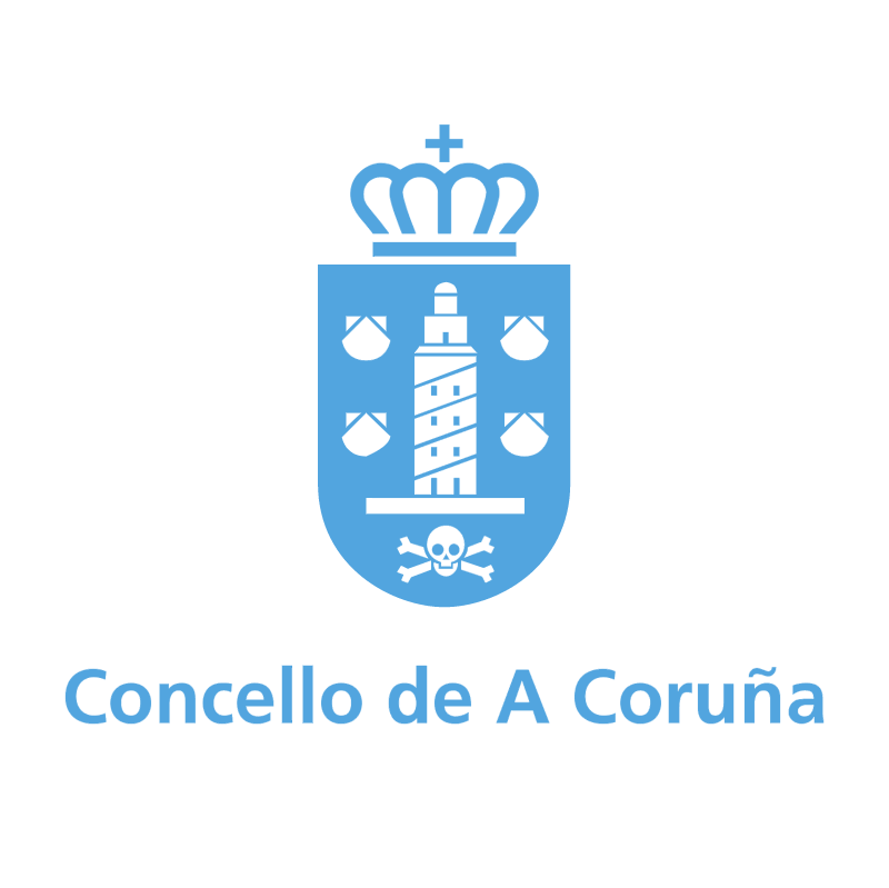 Concello de A Coruna vector
