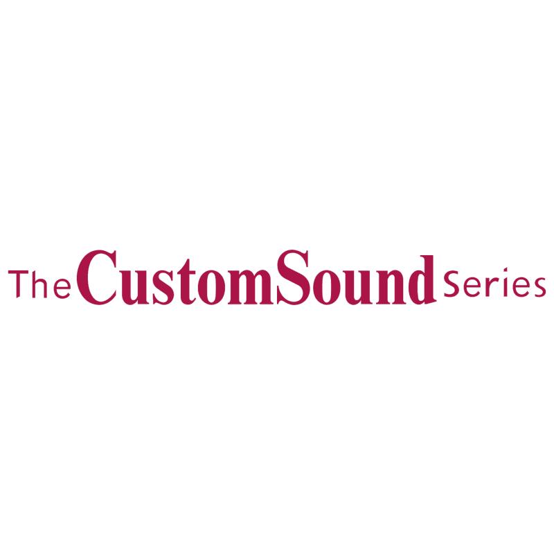 CustomSound Series vector