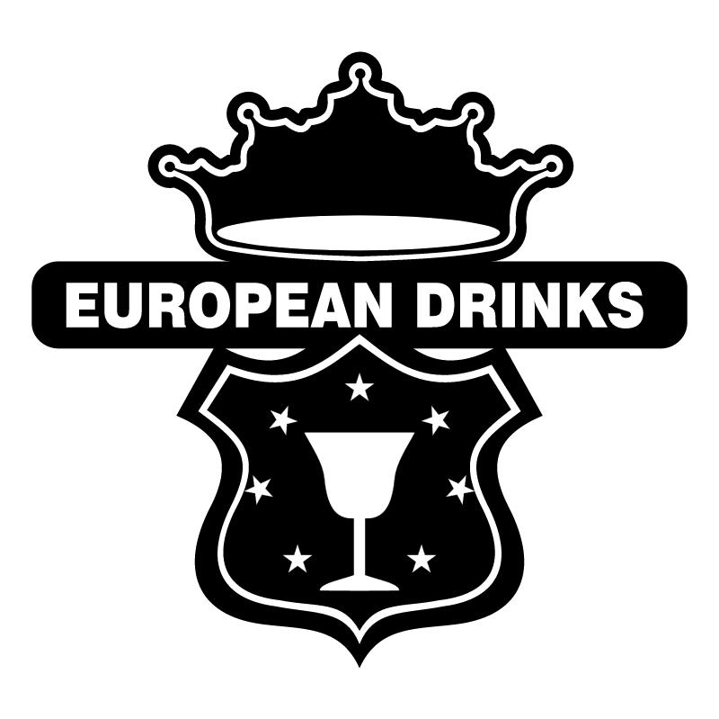 European Drinks vector