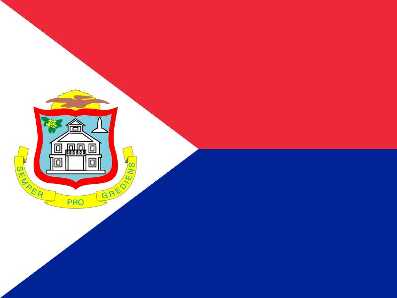 Flag of Sint Maarten (Dutch part) vector logo