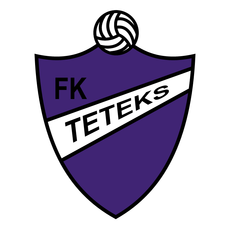 Fudbalski Klub Teteks vector logo