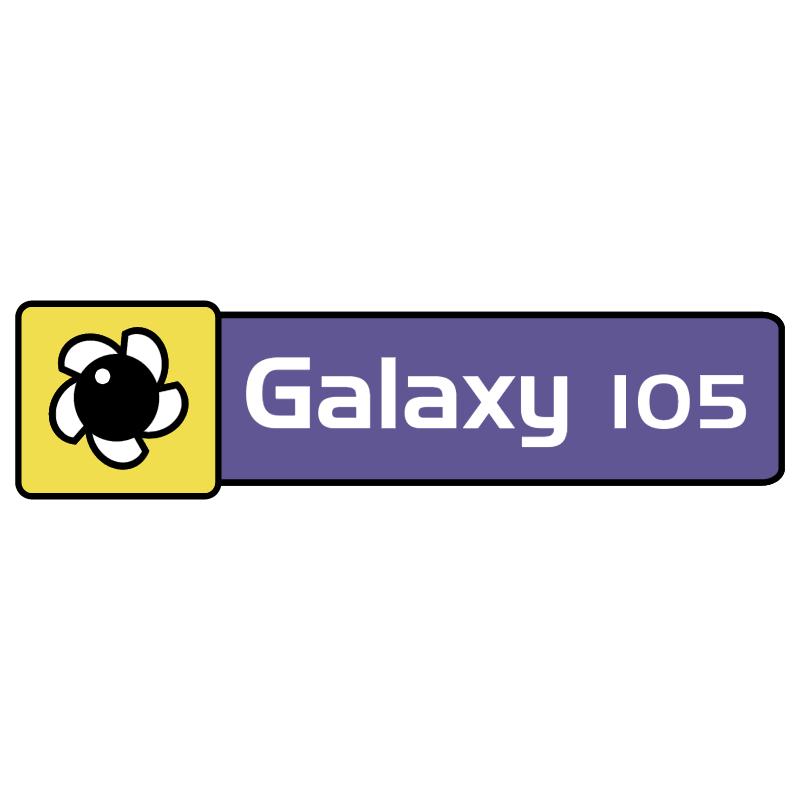 Galaxy 105 vector