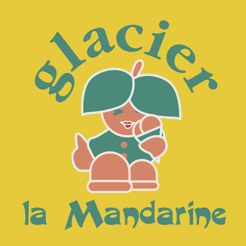 Glacier la Mandarine vector