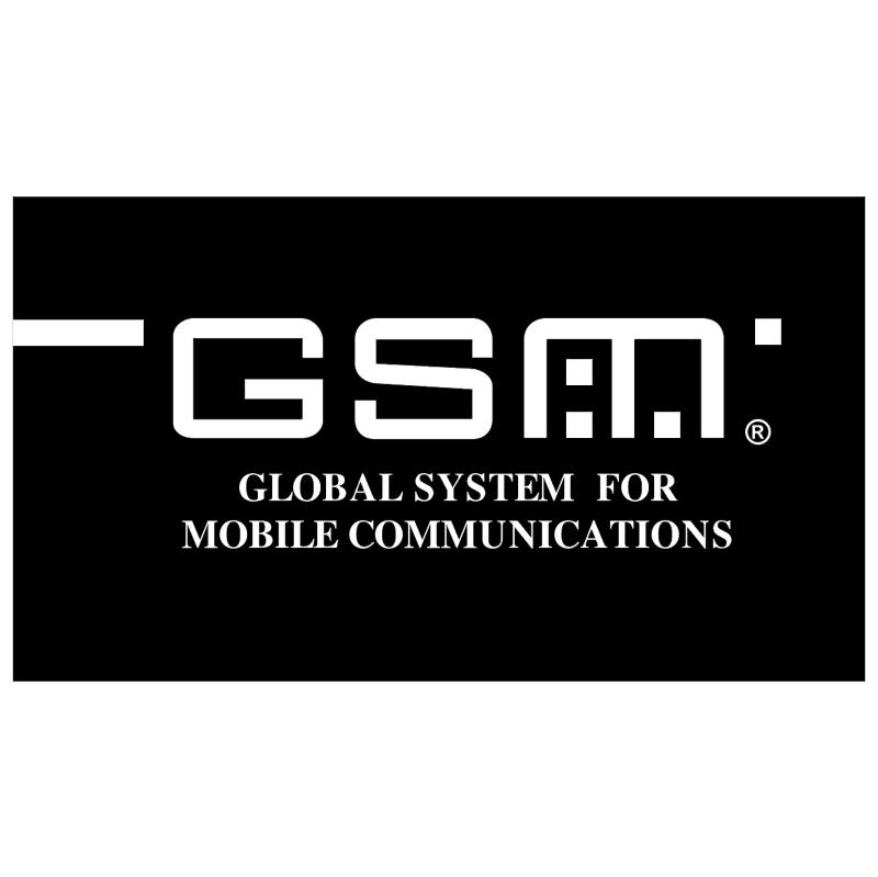 GSM vector logo