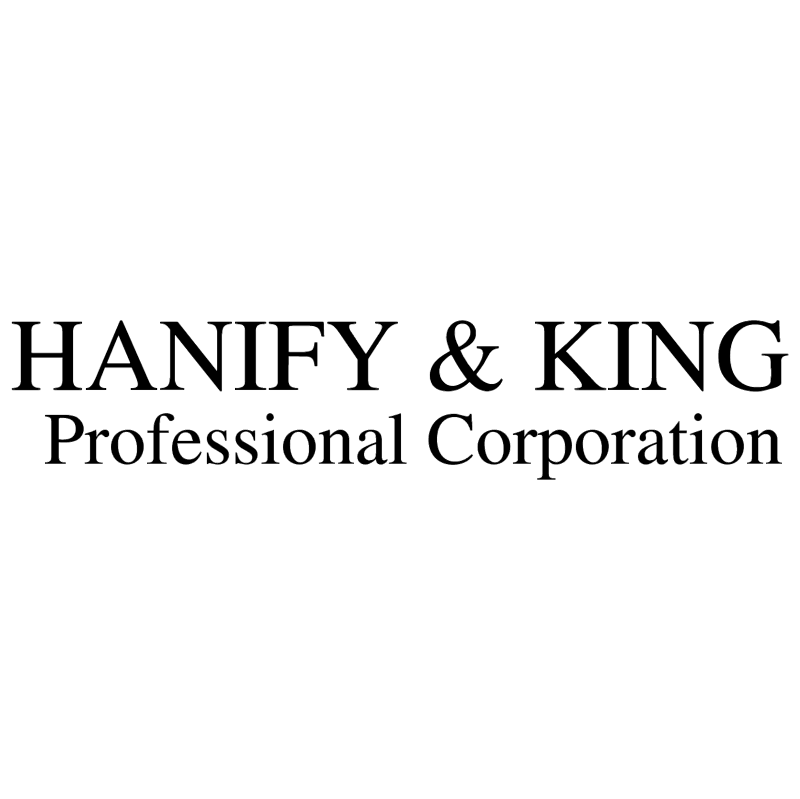 Hanify & King vector