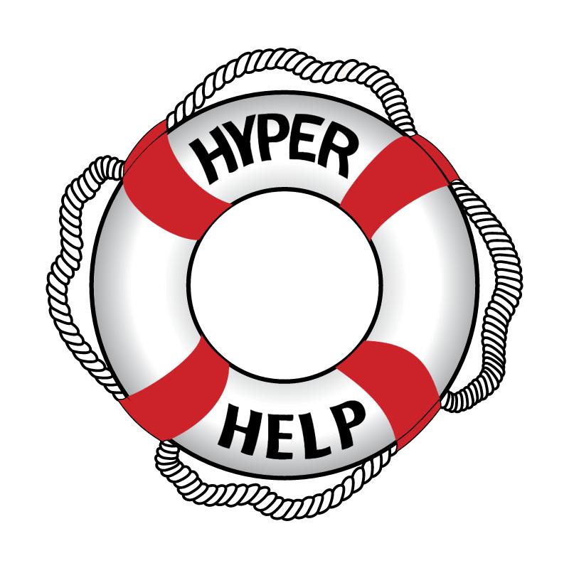 HyperHelp vector logo