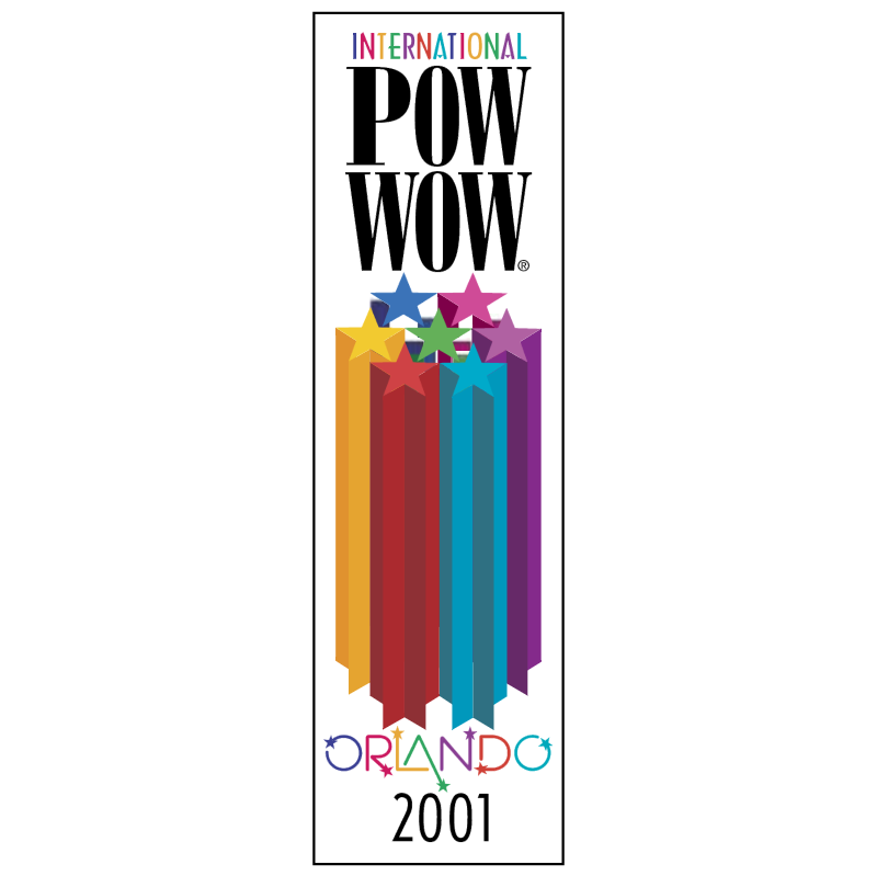 International Pow Wow vector