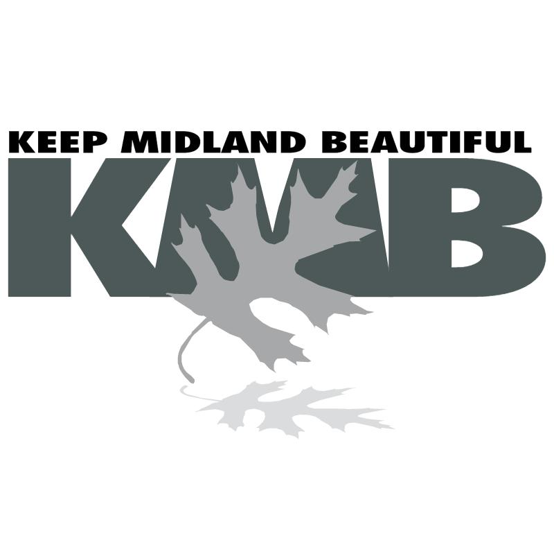 Keep Midland Beautiful vector