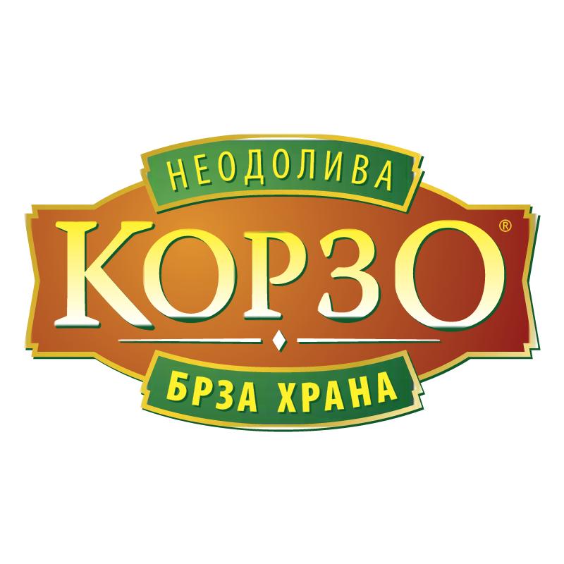 KORZO Fast Food MKD vector