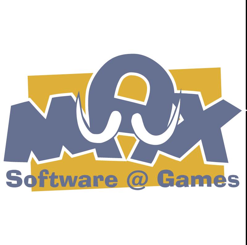 Max Software & Games vector logo