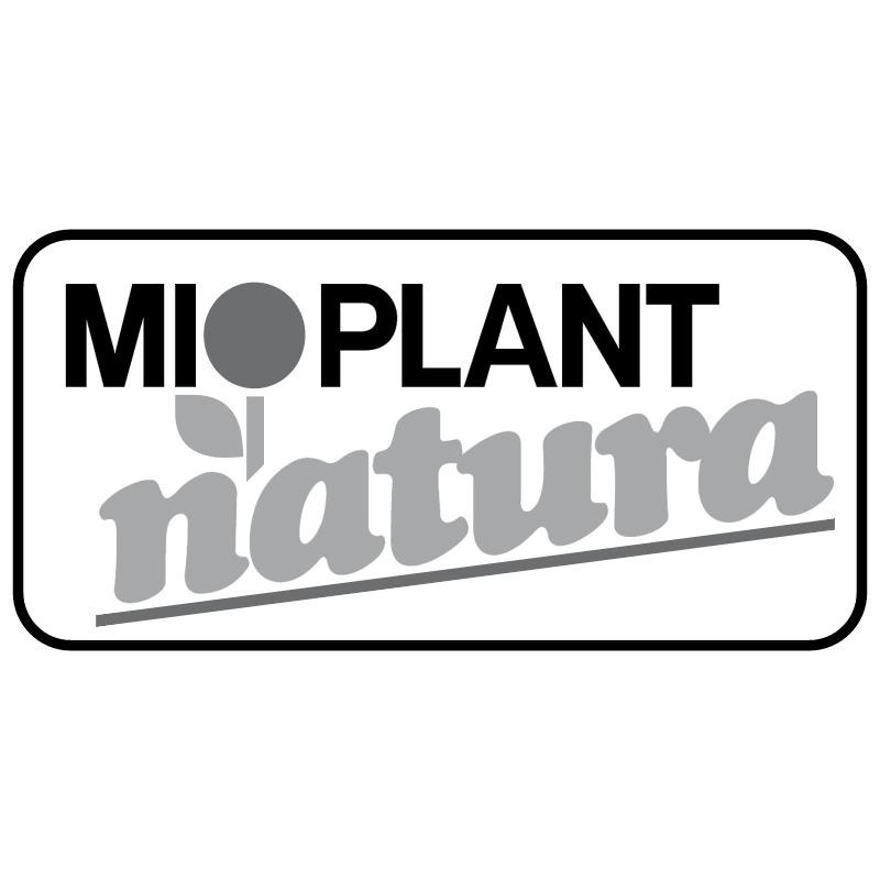 Mioplant Natura vector logo