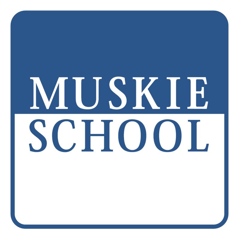 Muskie School vector