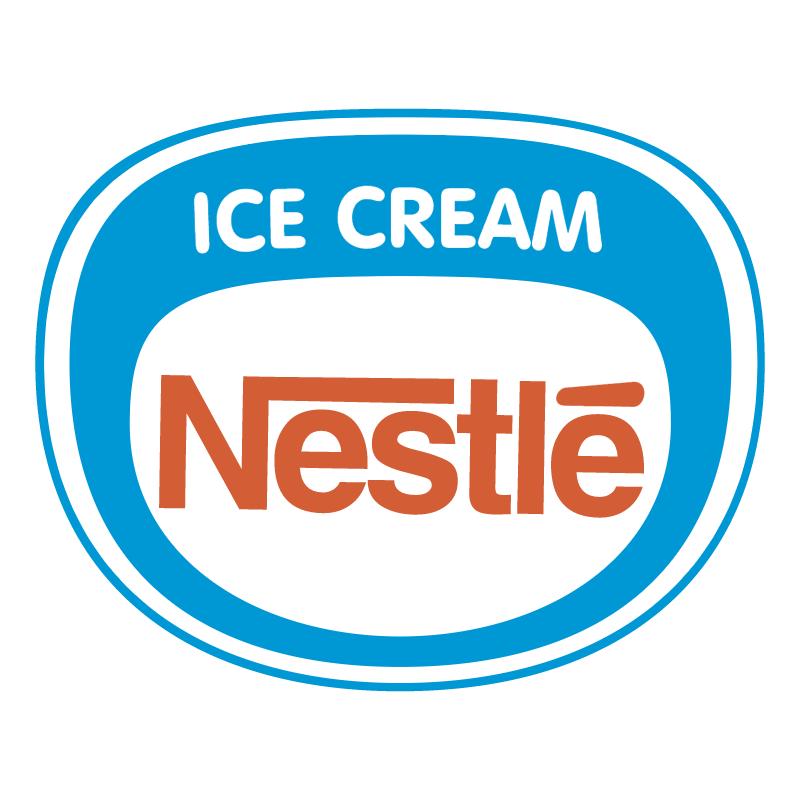Nestle Ice Cream vector logo