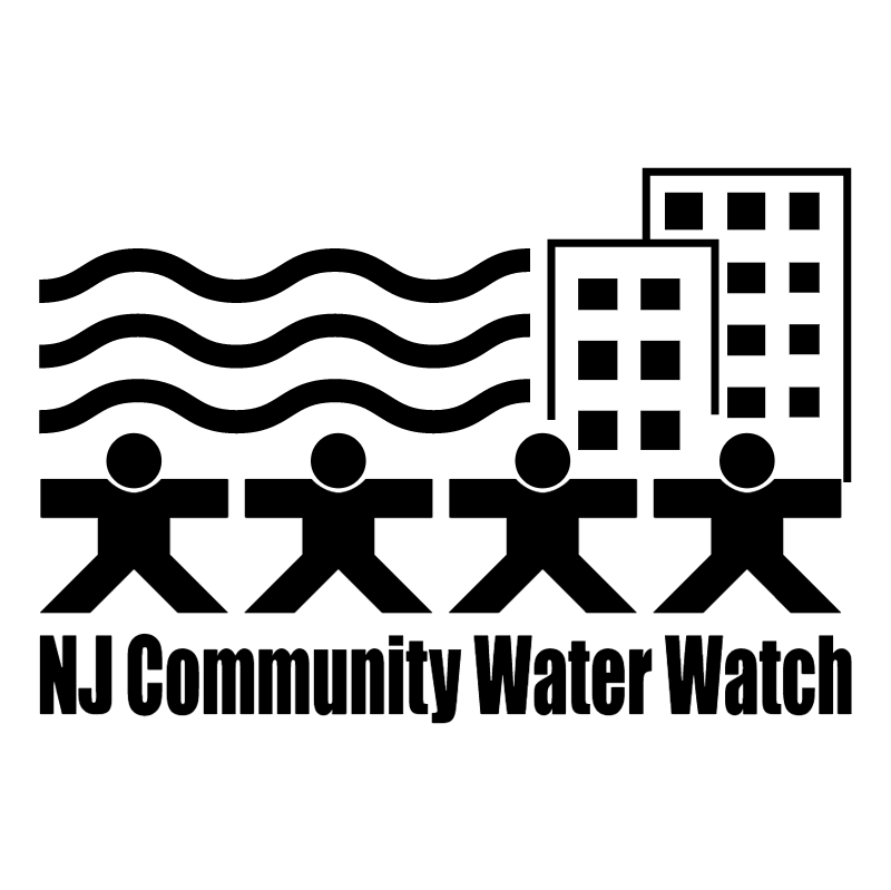 NJ Community Water Watch vector