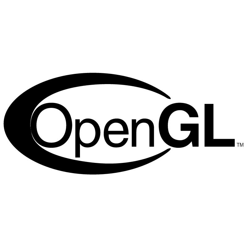 OpenGL vector logo