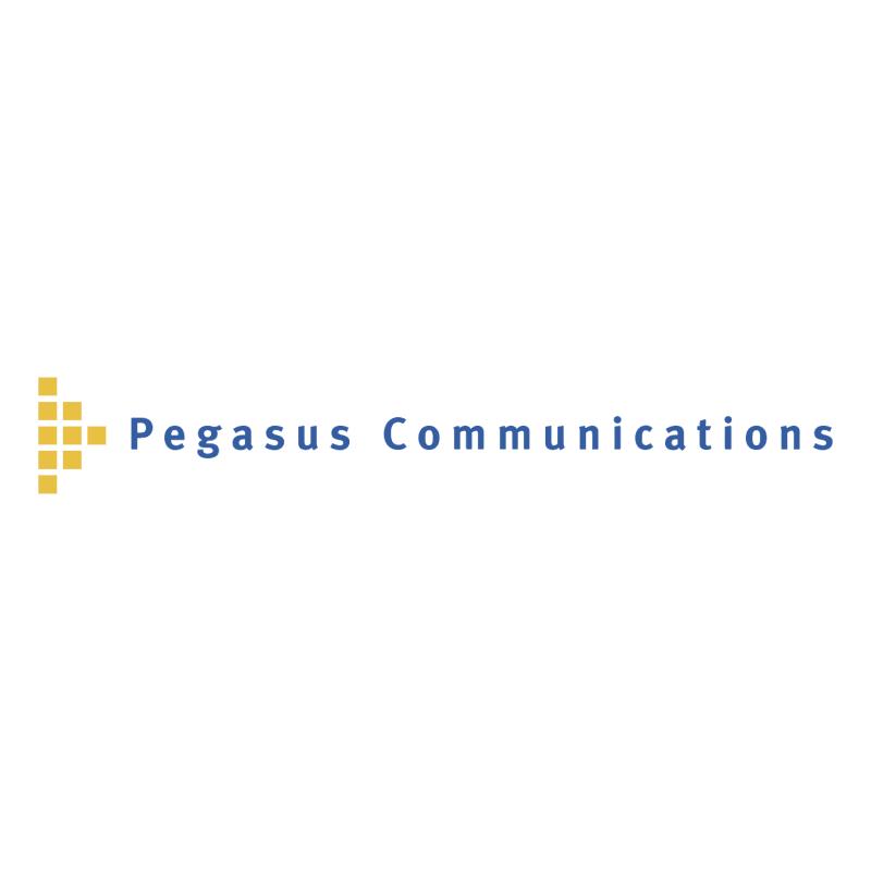 Pegasus Communications vector logo