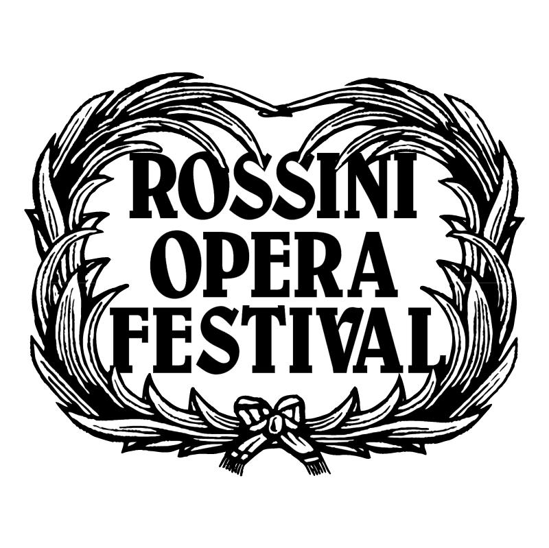 Rossini Opera Festival vector