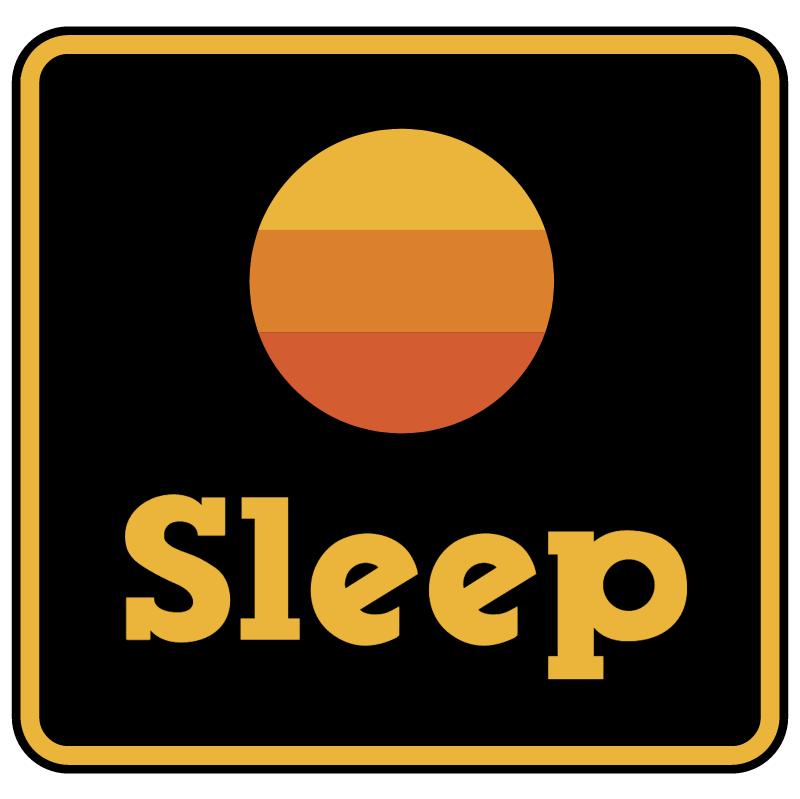 Sleep vector logo